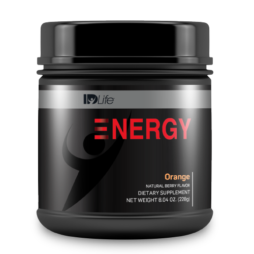 Energy Jar - Orange